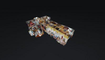 Magnolia Bed & Breakfast 3D Model
